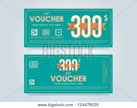 Voucher Design Vector  Photo (Free Trial) Bigstock