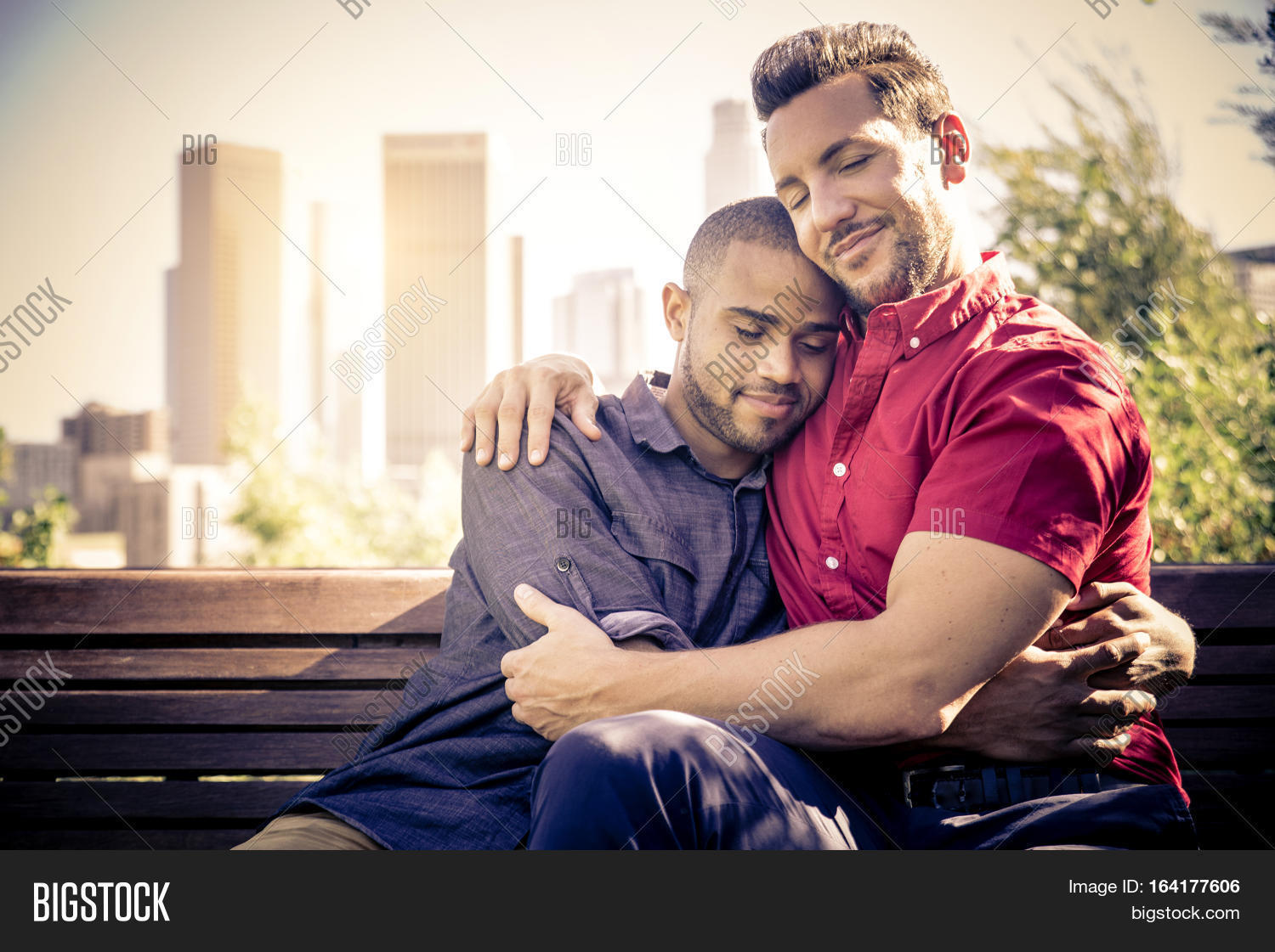 Gay Date Homosexual Couple Romantic Date Image And Photo Bigstock
