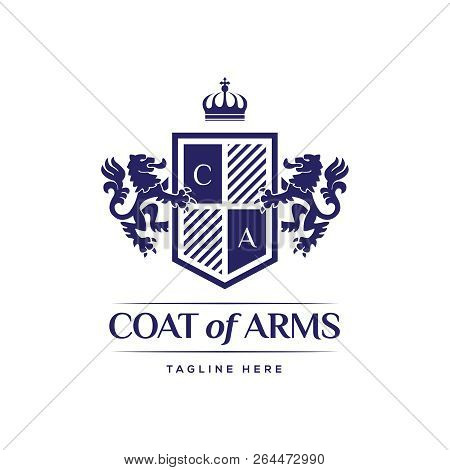 Coat Arms Heraldic Vector  Photo (Free Trial) Bigstock