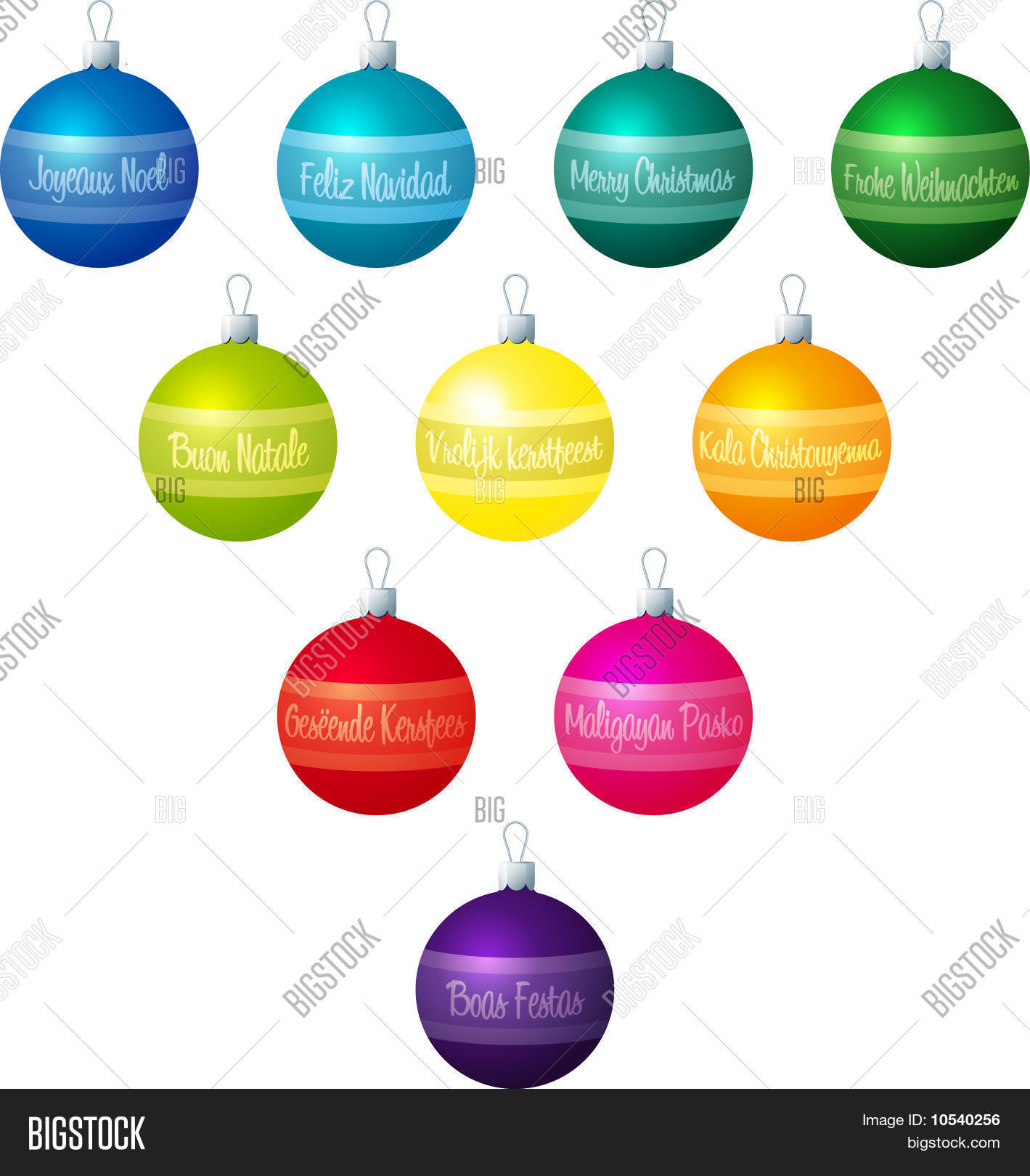 Frohe Weihnachten Tagalog Merry Christmas Vector Photo Free Trial Bigstock