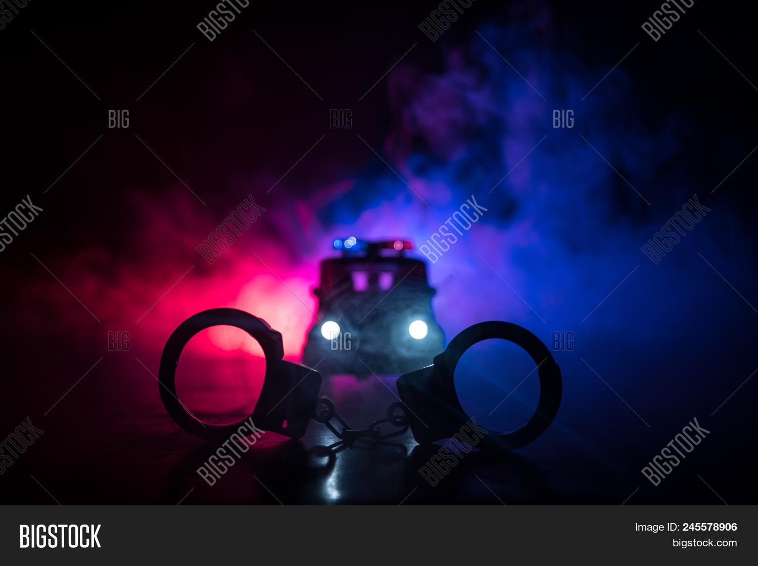 Closed Handcuffs On Image Photo Free Trial Bigstock