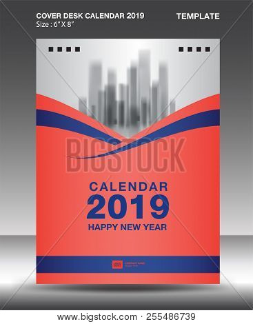 Cover Desk Calendar Vector  Photo (Free Trial) Bigstock
