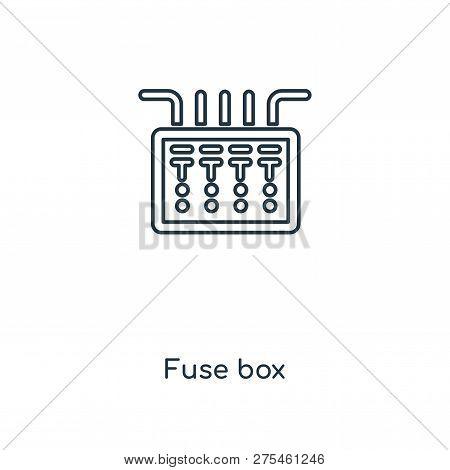 Fuse Box Icon Trendy Vector  Photo (Free Trial) Bigstock