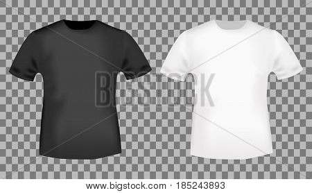 Black White T-shirt Vector  Photo (Free Trial) Bigstock