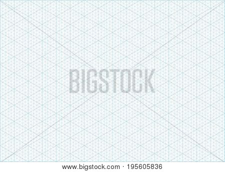 Blue Vector Isometric Grid Graph Vector  Photo Bigstock