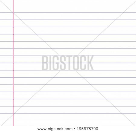 Lined Ruled Paper Background Blue Vector  Photo Bigstock