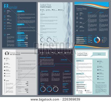 Resume Curriculum Vector  Photo (Free Trial) Bigstock - resume or curriculum vitae