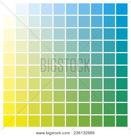Color Chart Yellow Cyan Print Vector  Photo Bigstock - sample cmyk color chart