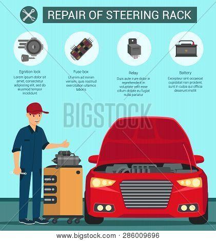 Repair Steering Rack Vector  Photo (Free Trial) Bigstock