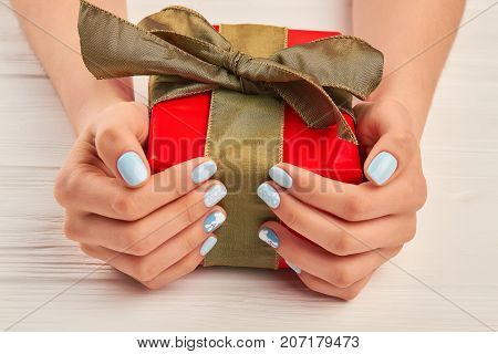 Gift Box Well Groomed Image Photo Free Trial Bigstock