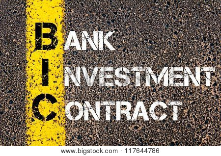 Business Acronym Bic Image  Photo (Free Trial) Bigstock - business investment contract