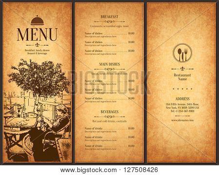 Restaurant Menu Vector  Photo (Free Trial) Bigstock