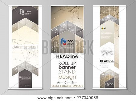 Roll Banner Stands, Vector  Photo (Free Trial) Bigstock