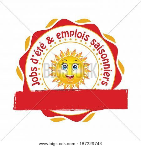 French Summer Jobs Vector  Photo (Free Trial) Bigstock