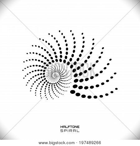 Abstract Spiral Swirl Vector  Photo (Free Trial) Bigstock