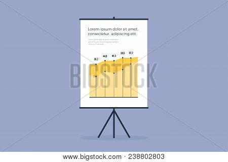 Presentation Board On Vector  Photo (Free Trial) Bigstock