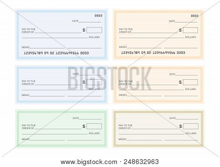 Check Template Bank Vector  Photo (Free Trial) Bigstock