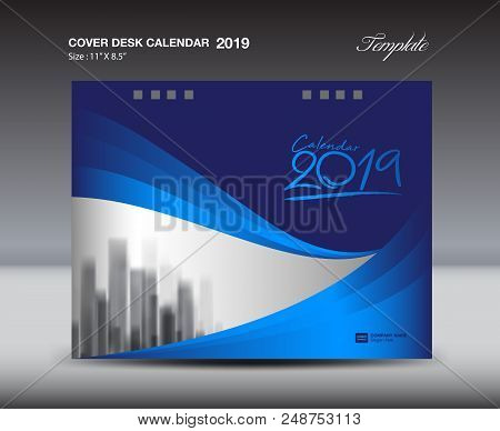 Blue Cover Desk Vector  Photo (Free Trial) Bigstock