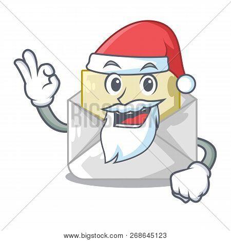 Santa Envelope Opened Vector  Photo (Free Trial) Bigstock