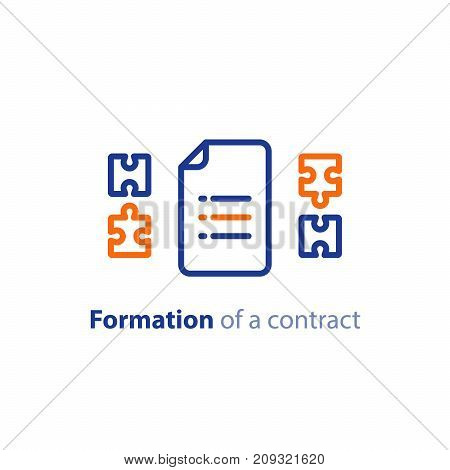 Formation Contract Vector  Photo (Free Trial) Bigstock