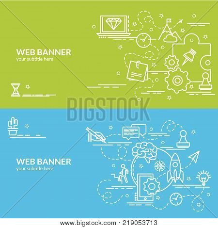 Flat Colorful Design Vector  Photo (Free Trial) Bigstock