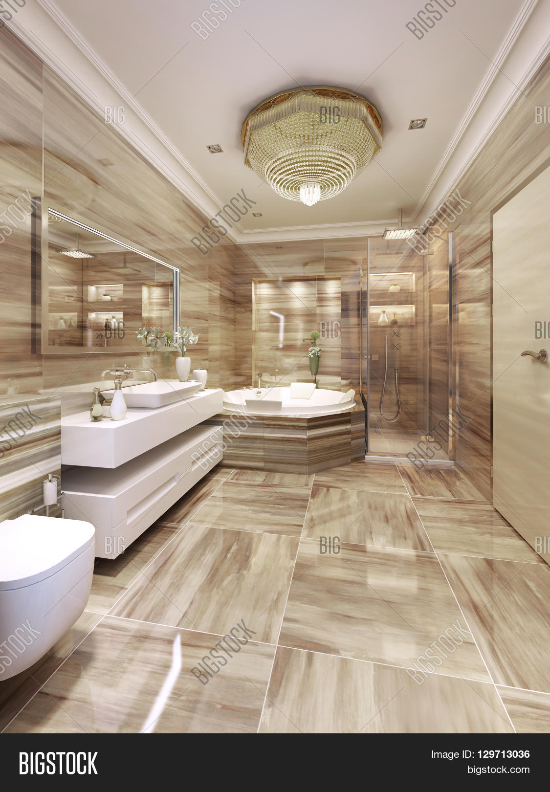 Modern Bathroom Design Image Photo Free Trial Bigstock