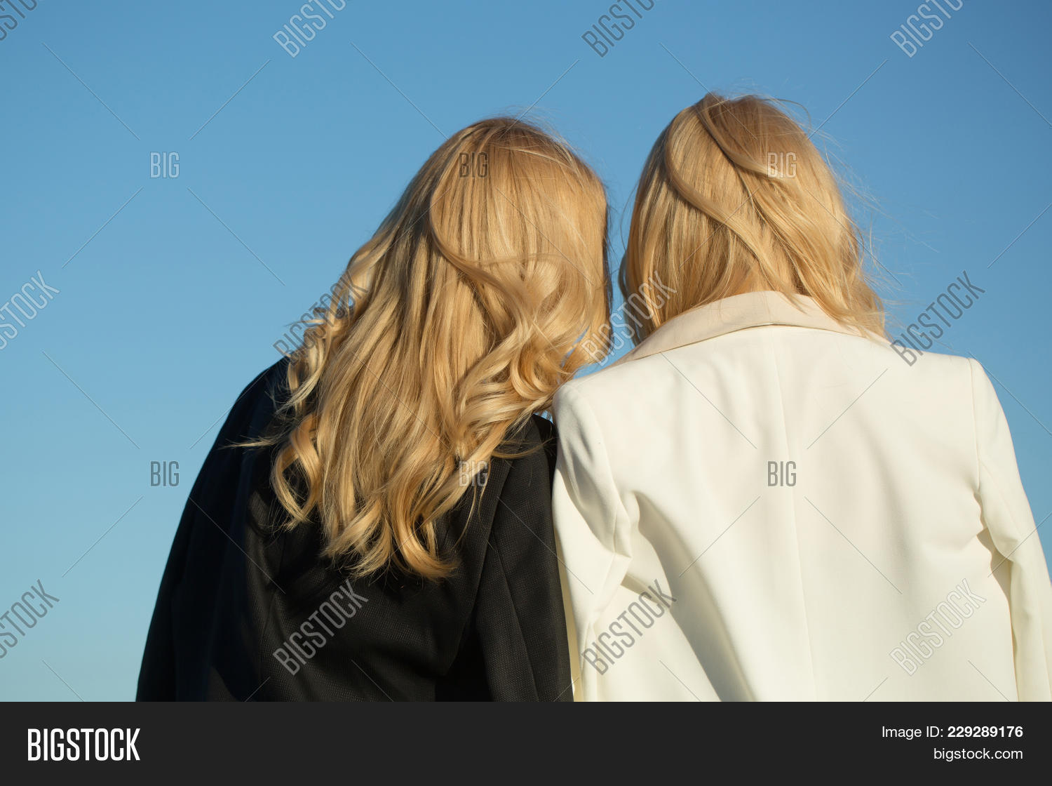 Freedom Coat Stand Women Blond Hair Image Photo Free Trial Bigstock