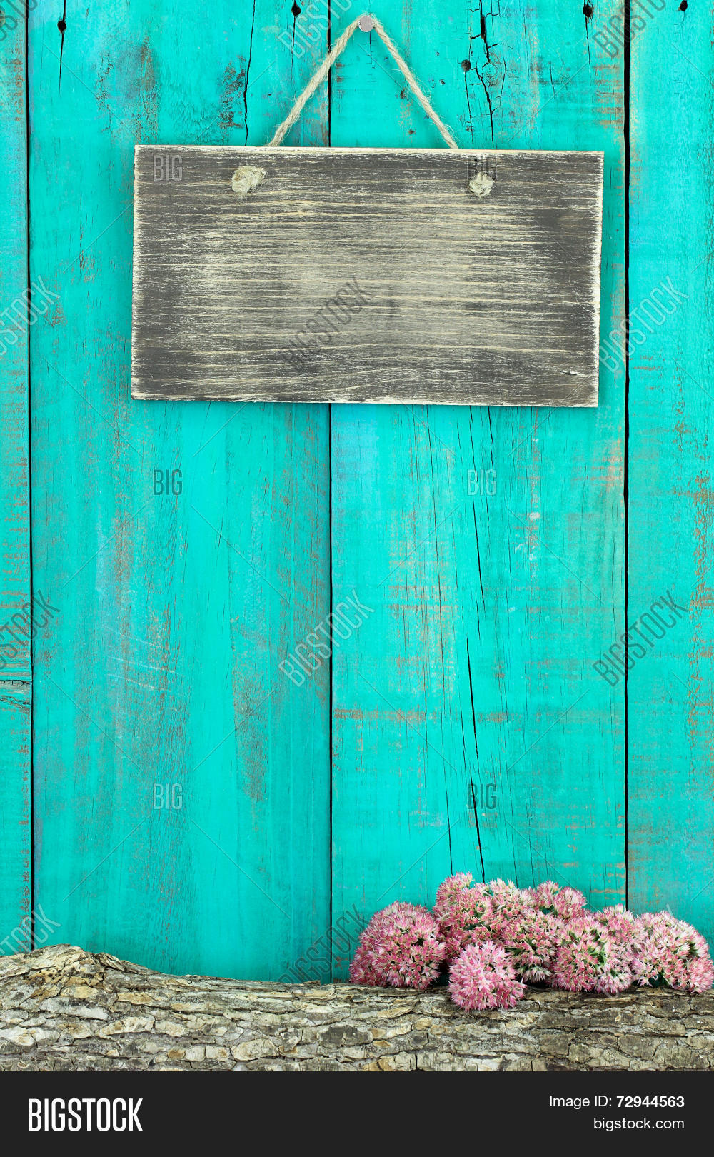 Blank Rustic Sign Image Photo Free Trial Bigstock
