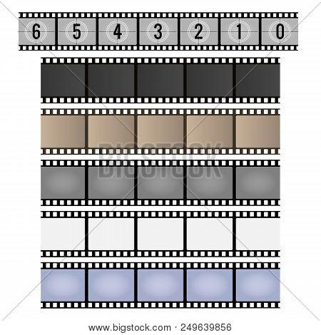Film Strip Movie Vector  Photo (Free Trial) Bigstock