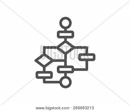 Block Diagram Line Vector  Photo (Free Trial) Bigstock