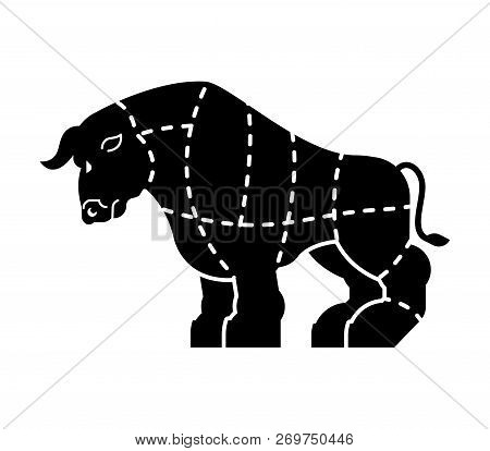 Cut Meat Bull Ox Vector  Photo (Free Trial) Bigstock