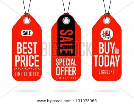Sale Vector Banner Promo Offer Vector \ Photo Bigstock - sale tag template