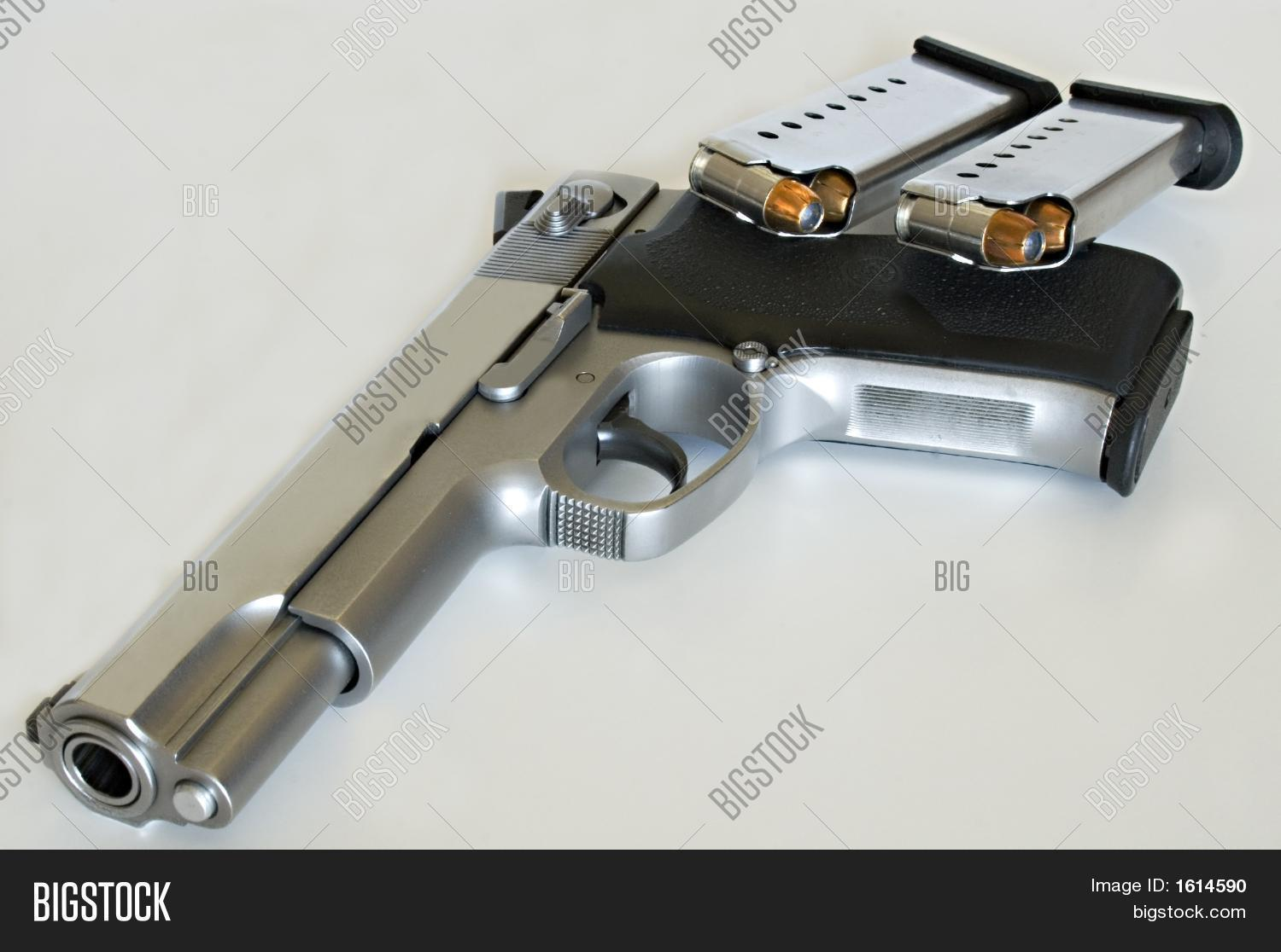 Calibre 45 45 Caliber Gun Stock Photo And Stock Images Bigstock