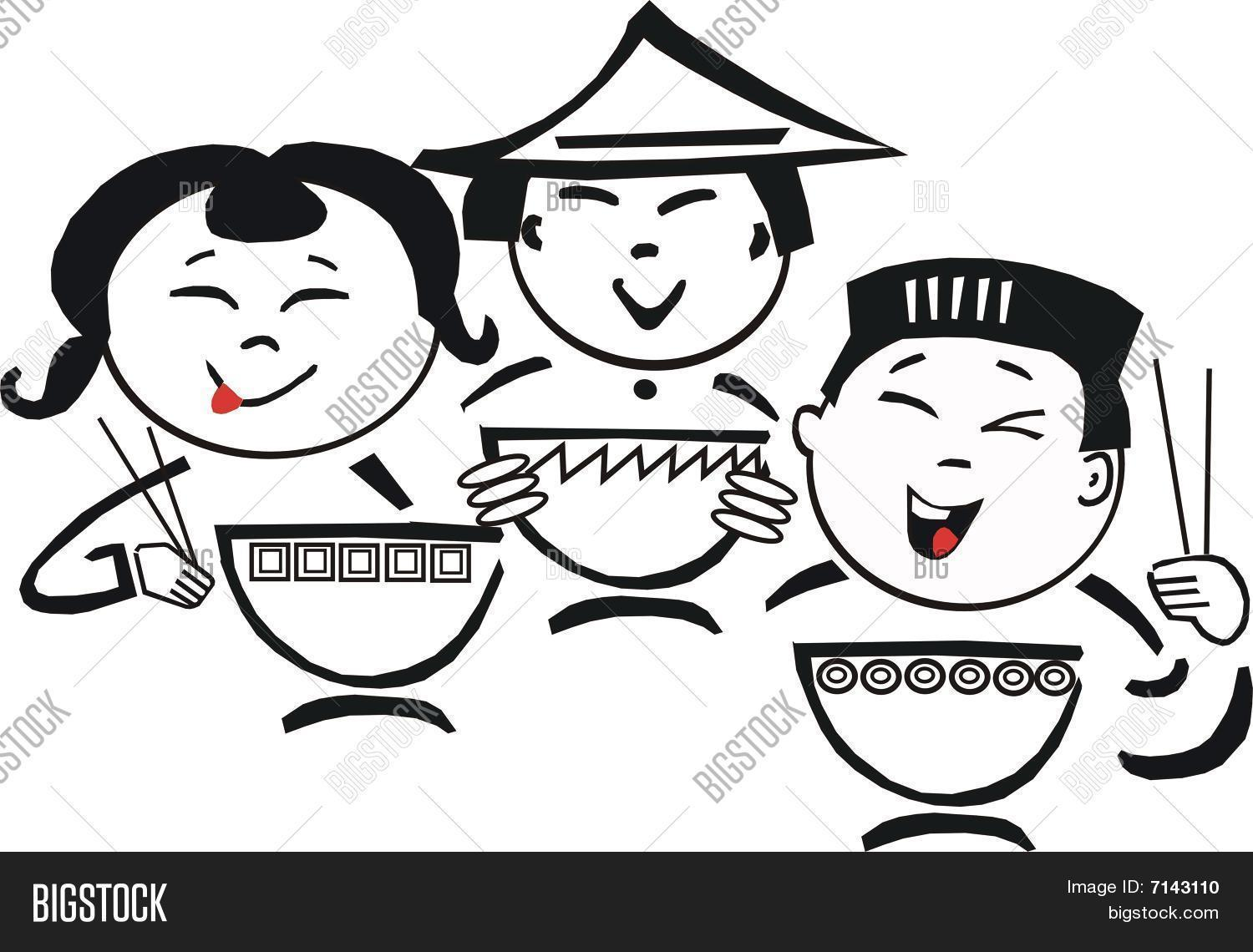 Bilder Cartoon Küche Asiatische Küche Cartoon Stock Vektorgrafiken
