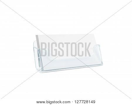 White Business Card Mockup Holder Image \ Photo Bigstock - blank card template