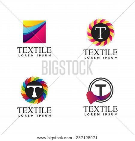 A Collection Of Logos For Decor Textile Icon Decoration Logo