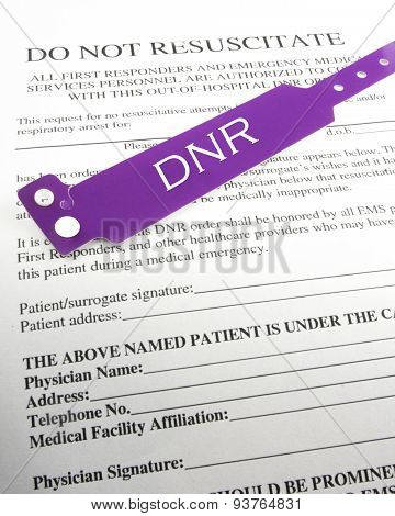 Do Not Resuscitate Information Poster ID93764831 - dnr medical form