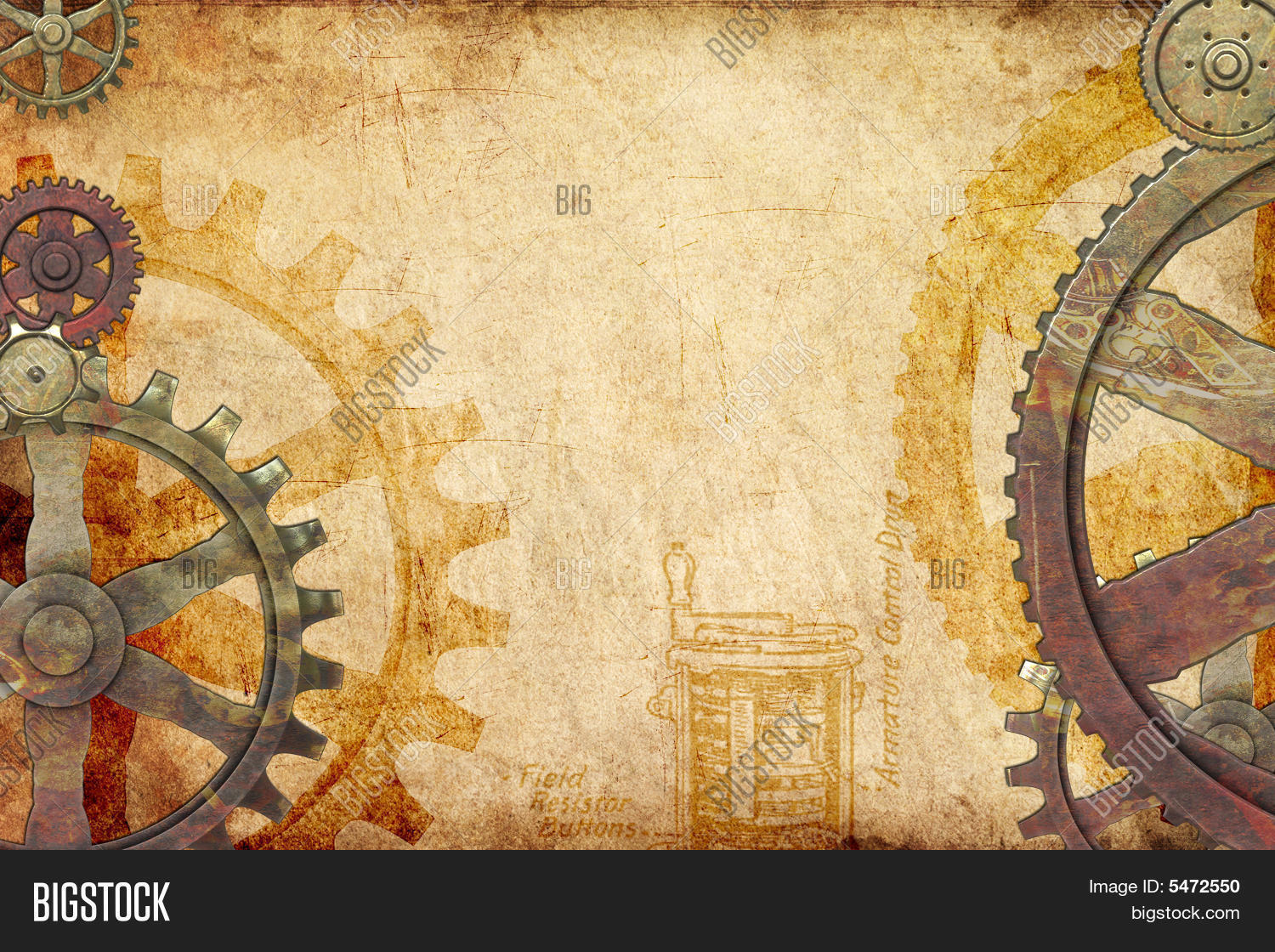 steampunk powerpoint template