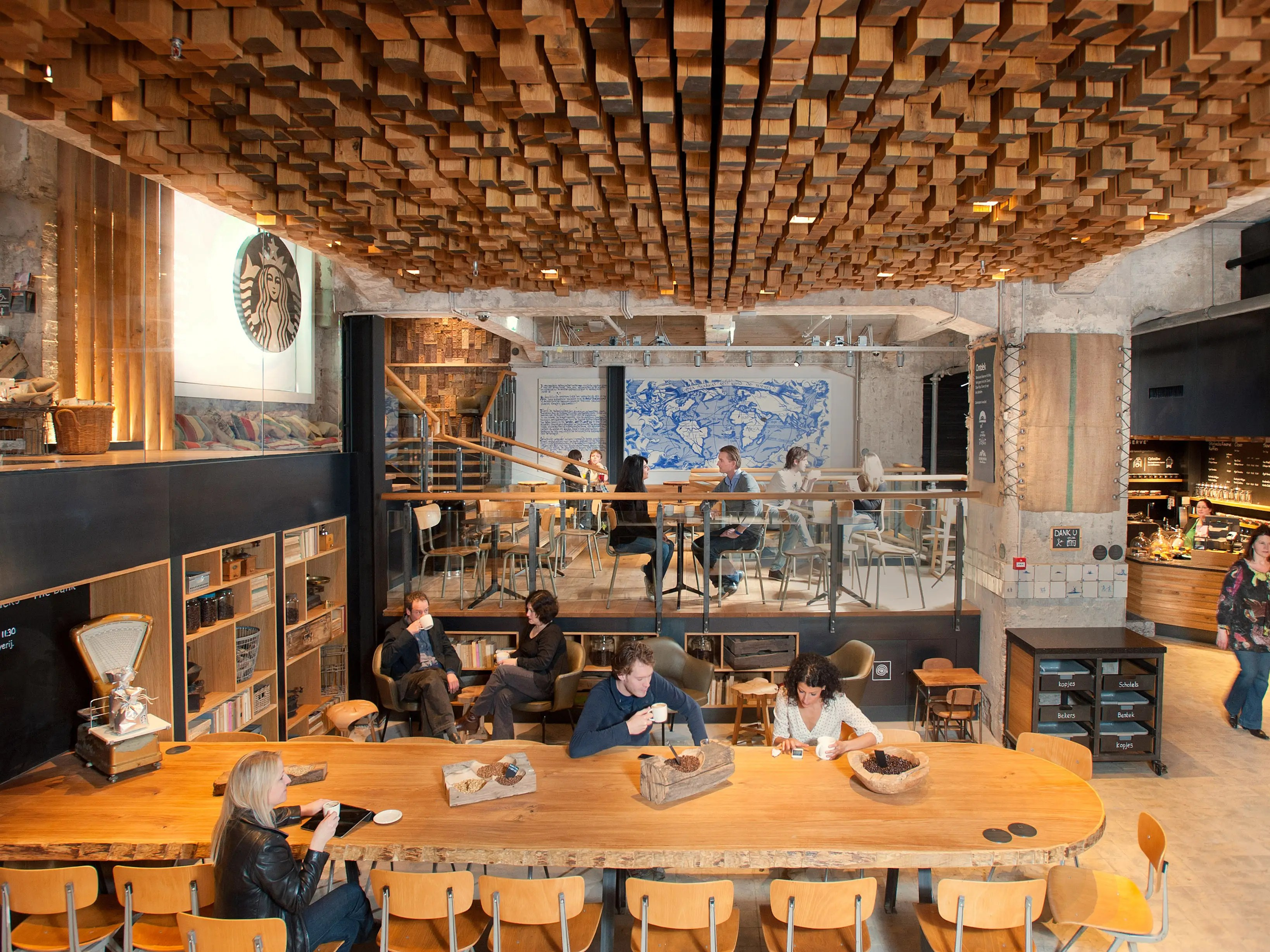 Coffee Concept Amsterdam Check Out Starbucks 39 Beautiful New Concept Store In
