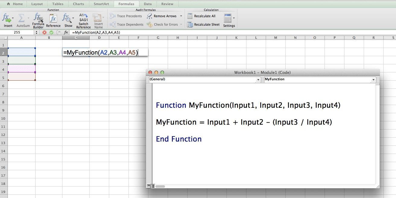 excel finance functions