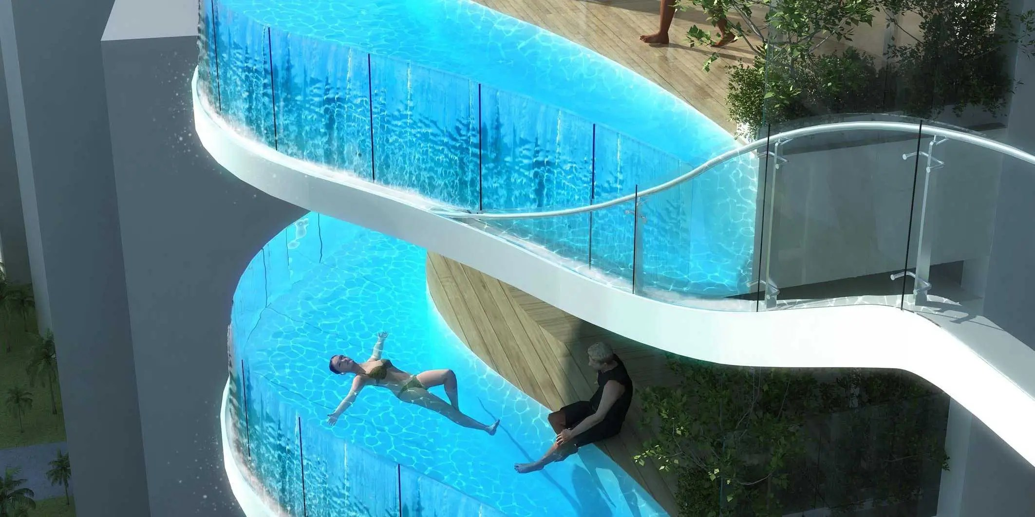 Pool Gestaltungsideen Luxury Condo With Balcony Pools Business Insider
