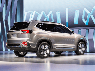 Subaru just unveiled a new three-row SUV called the VIZIV-7 - Business Insider