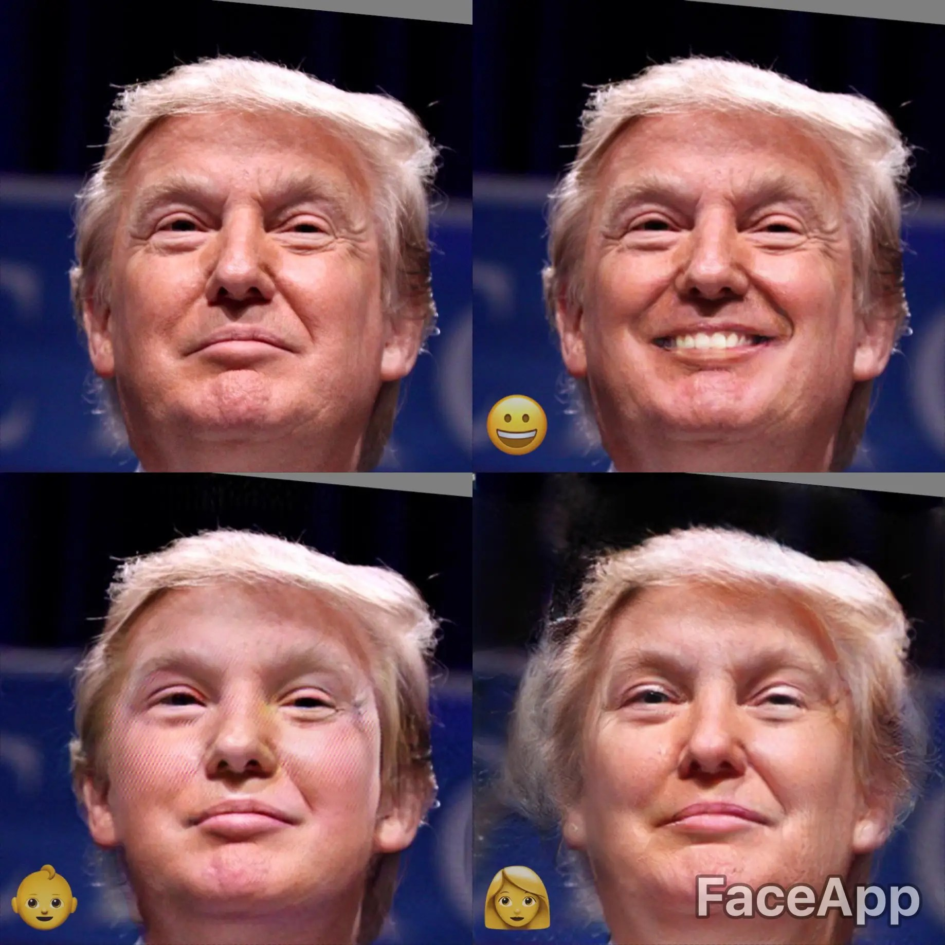 Spiegel Trump Test Faceapp How To Use The Popular Face Changing App Photos