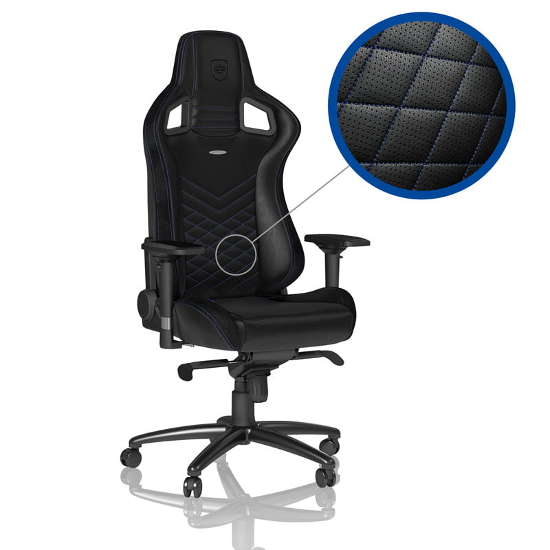 Gaming Sessel Test Noblechairs Epic Gaming Stuhl - Schwarz/blau