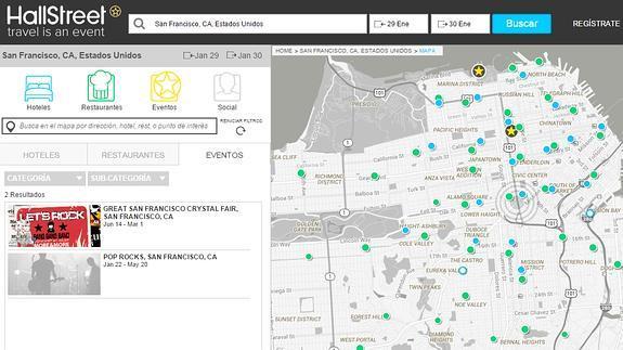 HallStreet, el planificador de ocio para viajes El Norte de Castilla