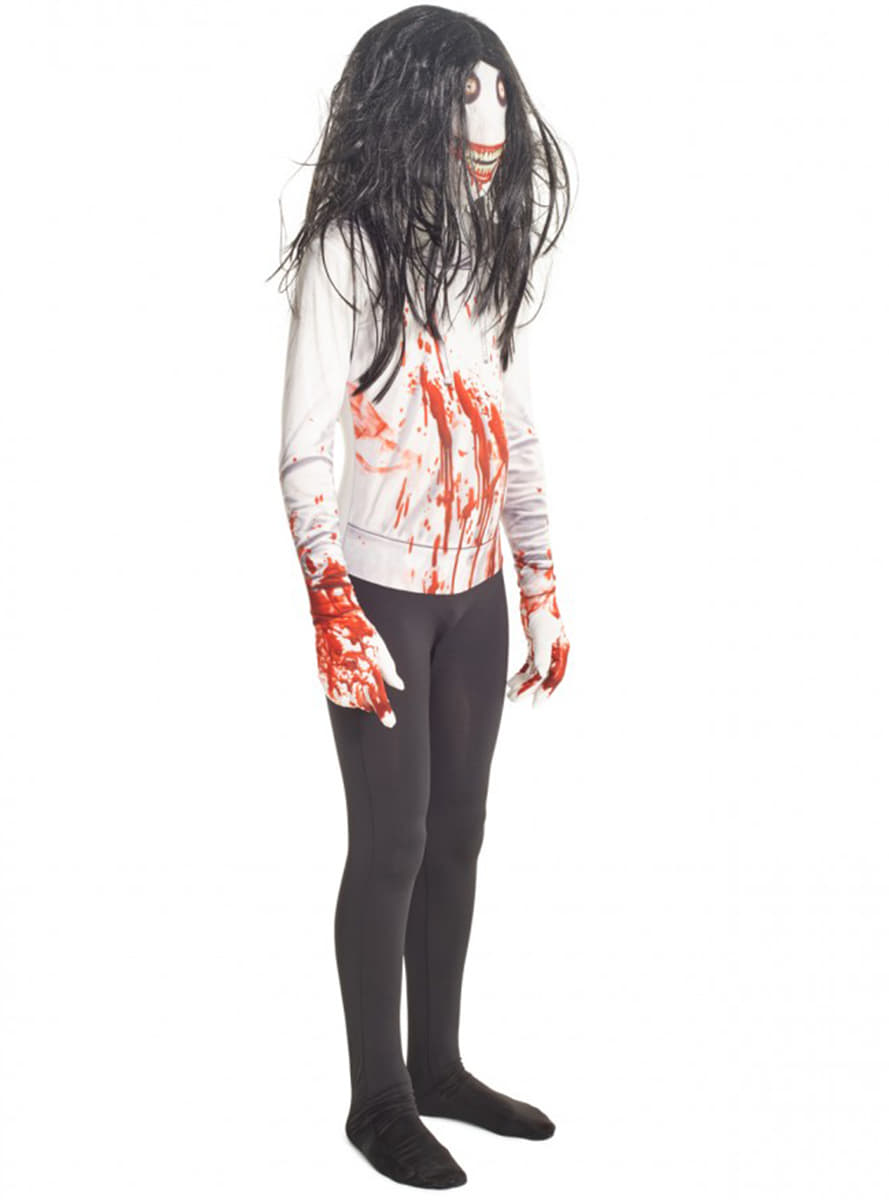 Decoration Murale Noel Costume Jeff The Killer Morphsuit Enfant | Funidelia