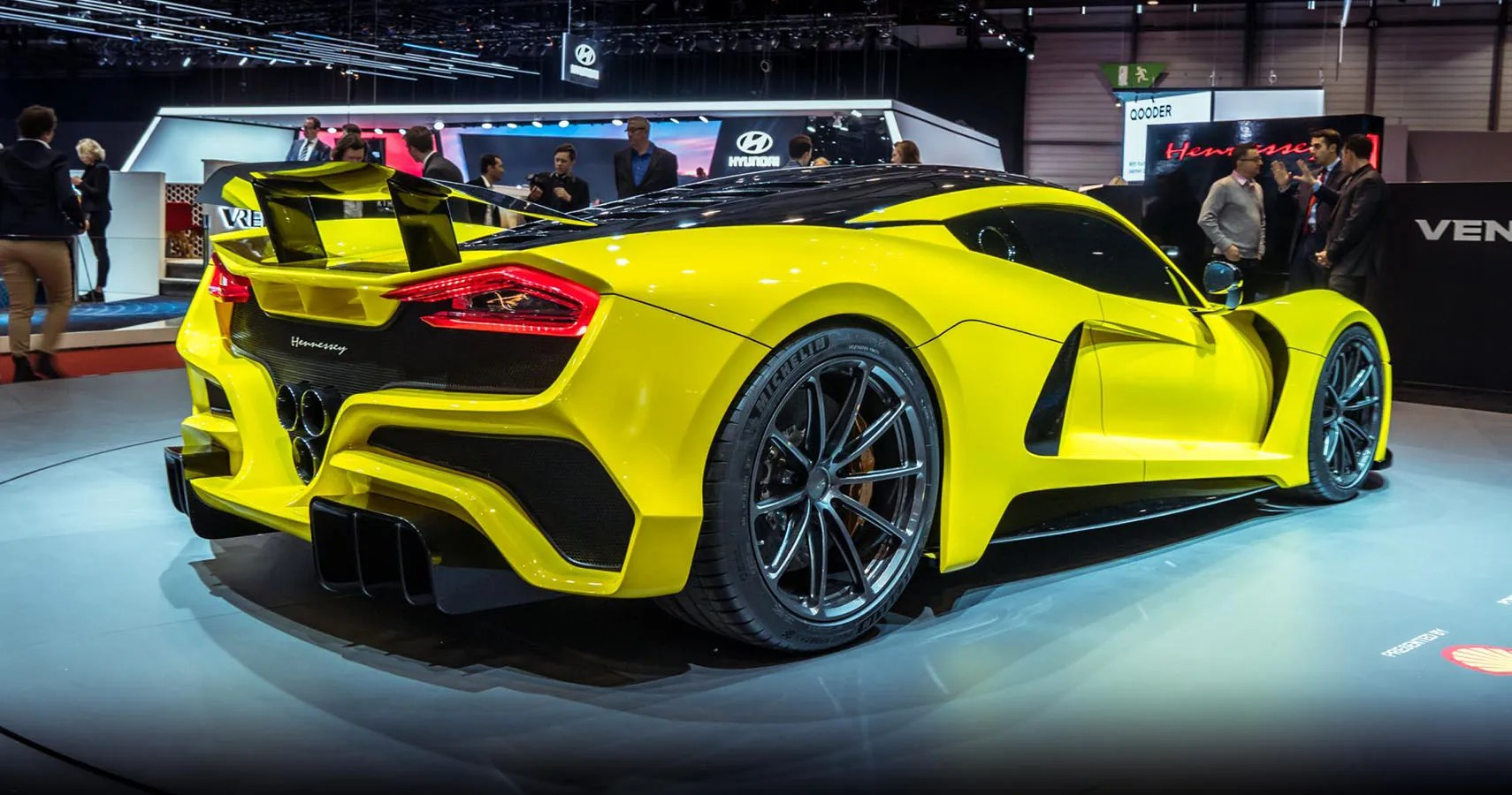 2018 Hennessey Venom F5 Hennessey Venom F5 Could Be First Road Car To Break 300 Mph