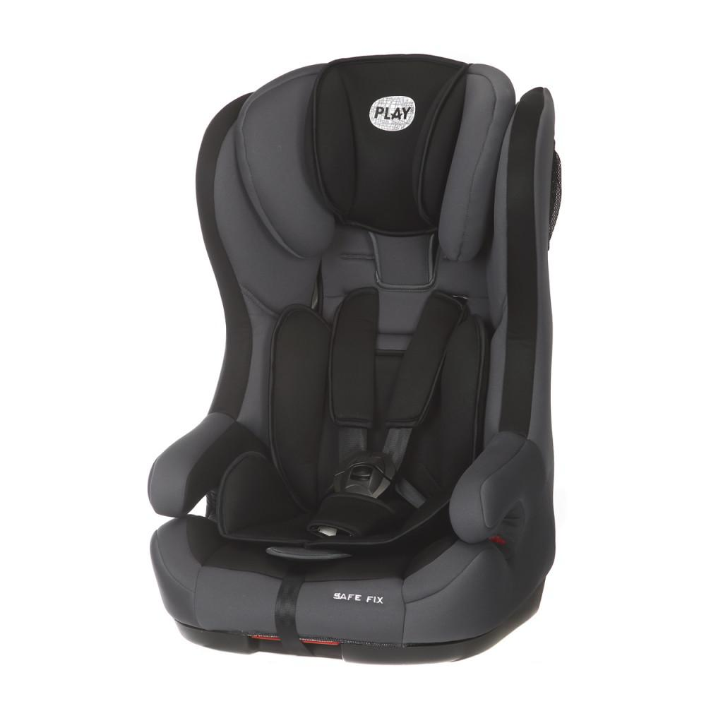 Silla Bebe Isofix Silla Isofix Play Safe Fix Grey Black
