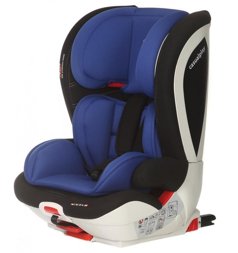 Silla Coche Grupo 1 2 3 Isofix Reclinable Silla Nauta Fix Blue Casualplay Casualplay