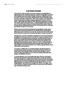 nuclear family sociology essay
